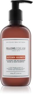 Fellows for Him Autumn Warmth Shampoo für Haare und Bart