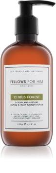 Fellows for Him Citrus Forest Haar- und Bartconditioner
