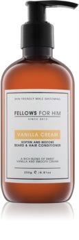 Fellows for Him Vanilla Cream conditionneur pour barbe et cheveux