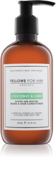 Fellows for Him Coconut & Lime Hair and Beard Conditioner