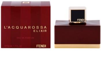 Fendi L'Acquarossa Elixir Eau de Parfum voor Vrouwen  50 ml