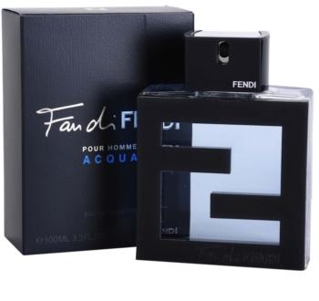 Fendi Fan di Fendi Pour Homme Acqua toaletná voda pre mužov 100 ml