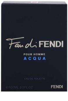 Fendi Fan di Fendi Pour Homme Acqua Eau de Toilette für Herren 100 ml