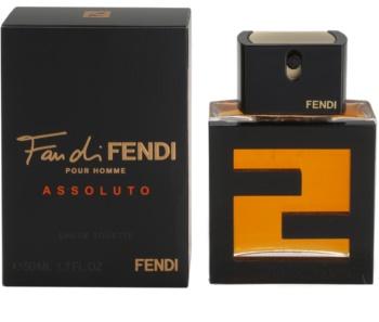 Fendi Fan di Fendi Pour Homme Assoluto Eau de Toilette for Men 50 ml