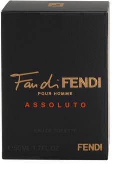 Fendi Fan di Fendi Pour Homme Assoluto eau de toilette pentru bărbați 50 ml