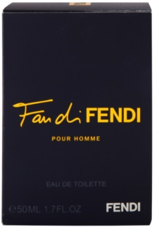 Fendi Fan di Fendi Pour Homme Eau de Toilette for Men 50 ml