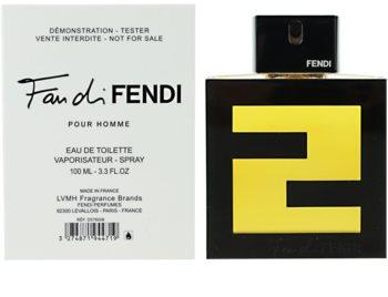 Fendi Fan di Fendi Pour Homme toaletní voda tester pro muže 100 ml