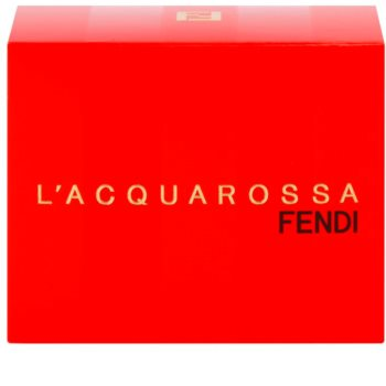 Fendi L'Acquarossa Eau de Toilette for Women 75 ml