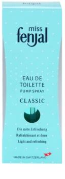 Fenjal Miss Classic eau de toilette per donna 50 ml con nebulizzatore