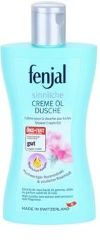 Fenjal Rose krémový sprchový gel s přídavkem oleje