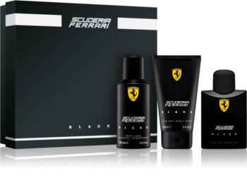 Ferrari Scuderia Ferrari Black darčeková sada III. pre mužov