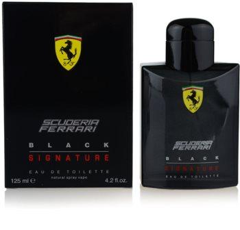 Ferrari Scuderia Ferrari Black Signature eau de toilette pentru barbati 125 ml
