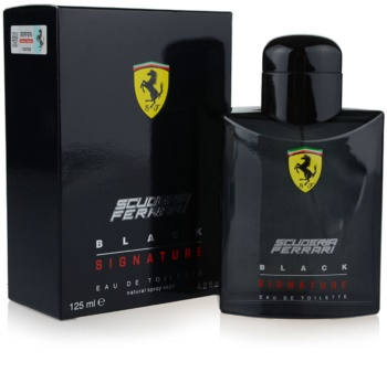 Ferrari Scuderia Ferrari Black Signature eau de toilette férfiaknak 125 ml