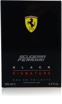 Ferrari Scuderia Ferrari Black Signature Eau de Toilette para homens 125 ml