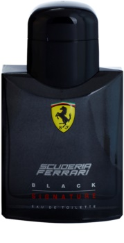 Ferrari Scuderia Ferrari Black Signature eau de toilette férfiaknak 75 ml