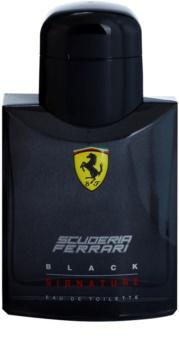 Ferrari Scuderia Ferrari Black Signature eau de toilette pour homme 75 ml