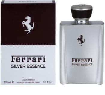 Ferrari Silver Essence eau de parfum per uomo 100 ml