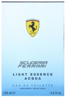 Ferrari Scuderia Ferrari Light Essence Acqua toaletní voda unisex 125 ml