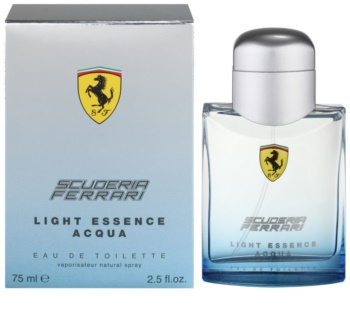 Ferrari Scuderia Ferrari Light Essence Acqua eau de toilette unissexo 75 ml