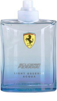 Ferrari Scuderia Ferrari Light Essence Acqua eau de toilette teszter unisex 125 ml