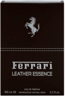 Ferrari Leather Essence eau de parfum per uomo 100 ml