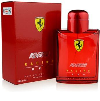 Ferrari Scuderia Farrari Racing Red eau de toilette férfiaknak 125 ml