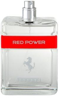 Ferrari Ferrari Red Power woda toaletowa tester dla mężczyzn 125 ml
