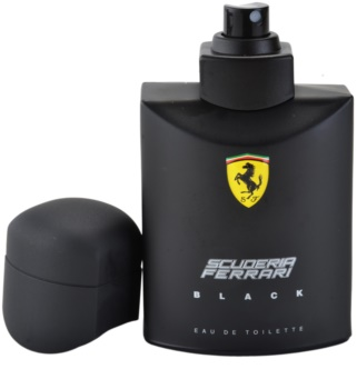 Ferrari Scuderia Black toaletní voda pro muže 75 ml