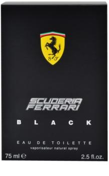 Ferrari Scuderia Ferrari Black Eau de Toilette para homens 75 ml