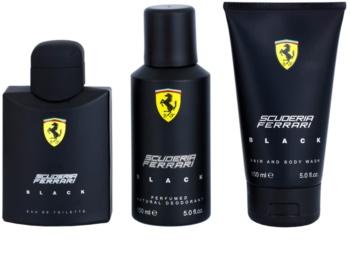 Ferrari Scuderia Ferrari Black set cadou III