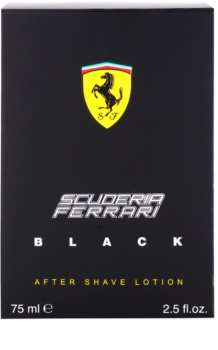 Ferrari Scuderia Ferrari Black Aftershave Balsem  voor Mannen 75 ml