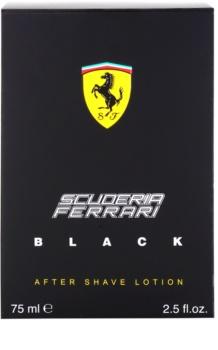 Ferrari Scuderia Ferrari Black balzam za po britju za moške 75 ml
