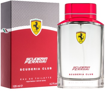 Ferrari Scuderia Club Eau de Toilette voor Mannen 125 ml