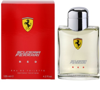 Ferrari Scuderia Red toaletní voda pro muže 125 ml