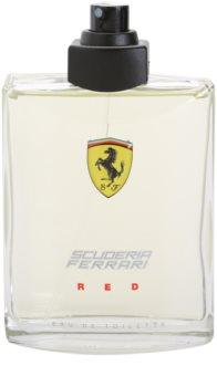 Ferrari Scuderia Ferrari Red eau de toilette teszter férfiaknak 125 ml