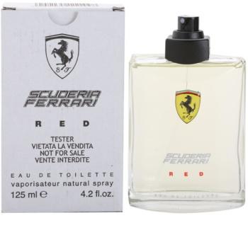Ferrari Scuderia Ferrari Red toaletní voda tester pro muže 125 ml