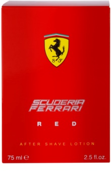 Ferrari Scuderia Ferrari Red voda po holení pro muže 75 ml