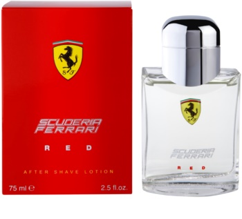 Ferrari Scuderia Ferrari Red After Shave Lotion for Men 75 ml