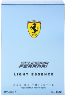 Ferrari Scuderia Light Essence toaletní voda pro muže 125 ml