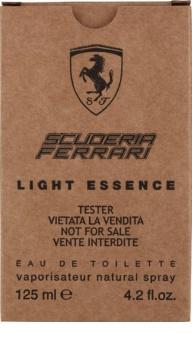 Ferrari Scuderia Light Essence toaletní voda tester pro muže 125 ml