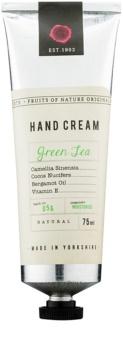Fikkerts Fruits of Nature Green Tea intensive, hydratisierende Creme für Hände und Fingernägel