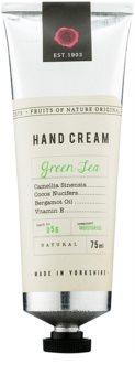 Fikkerts Fruits of Nature Green Tea intenzivní hydratační krém na ruce a nehty