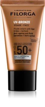 Filorga UV-Bronze fluido antirrugas SPF 50+