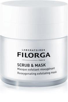 Filorga Scrub & Mask mascarilla exfoliante oxigenante para renovación celular de la piel