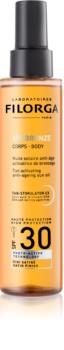 Filorga UV-Bronze ulei protector pentru intensificarea bronzului SPF 30