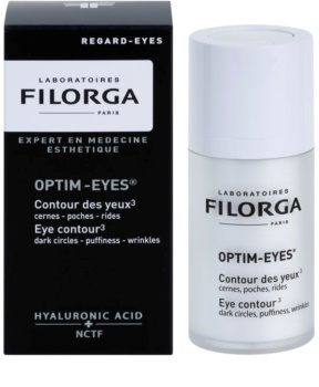 Filorga Optim-Eyes tratamiento contorno de ojos antiarrugas, antibolsas y antiojeras
