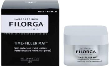 Filorga Medi-Cosmetique Time-Filler crème matifiante pour lisser la peau et réduire les pores