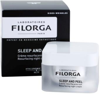 Filorga Sleep & Peel creme de noite renovador para iluminar e alisar pele