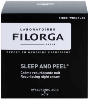 Filorga Sleep & Peel odnawiający krem na noc dla efektu rozjaśnienia i wygładzenia skóry