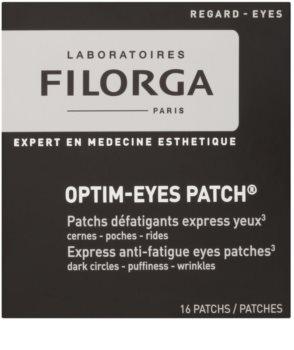 Filorga Medi-Cosmetique Optim-Eyes maska do oczu w postaci plastrów przeciw zmarszczkom, opuchnięciom i cieniom pod oczami